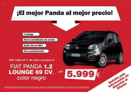 Fiat Panda 1.2 Lounge, por 5.999 euros