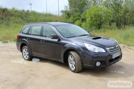 Subaru Outback MY2013. Ahora, bóxer diésel y transmisión Lineartronic CVT