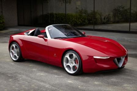 El nuevo Alfa Romeo Spider estará inspirado en el Alfa 4C y tendrá plataforma Mazda