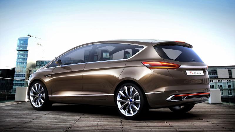 Ford S-MAX Concept, así será el nuevo S-MAX 2014