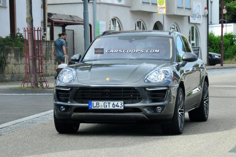 Porsche Macan 2014, desnudo completo antes de su lanzamiento