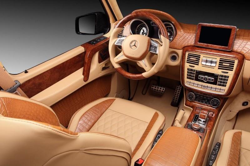 Topcar Viste De Cocodrilo Al Mercedes Benz G65 Amg De Hamann
