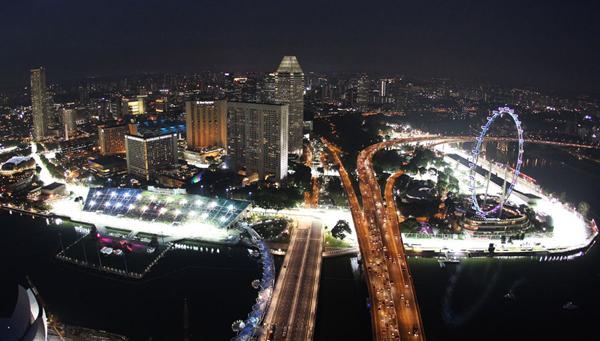 Circuito F1 Singapur : Agenda gp singapur eventos y datos del circuito marina bay motor
