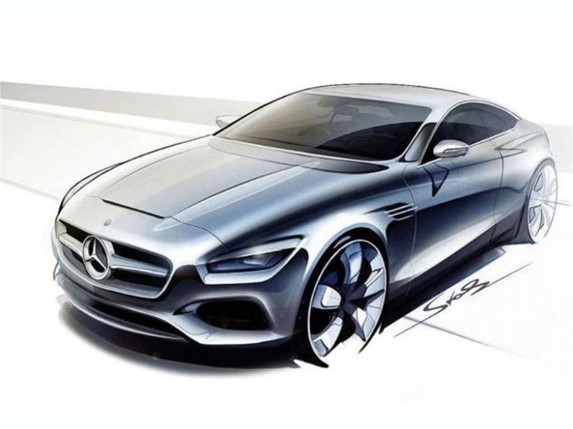 Mercedes benz clase s coup el lujoso deportivo estar en for Mercedes benz deportivo