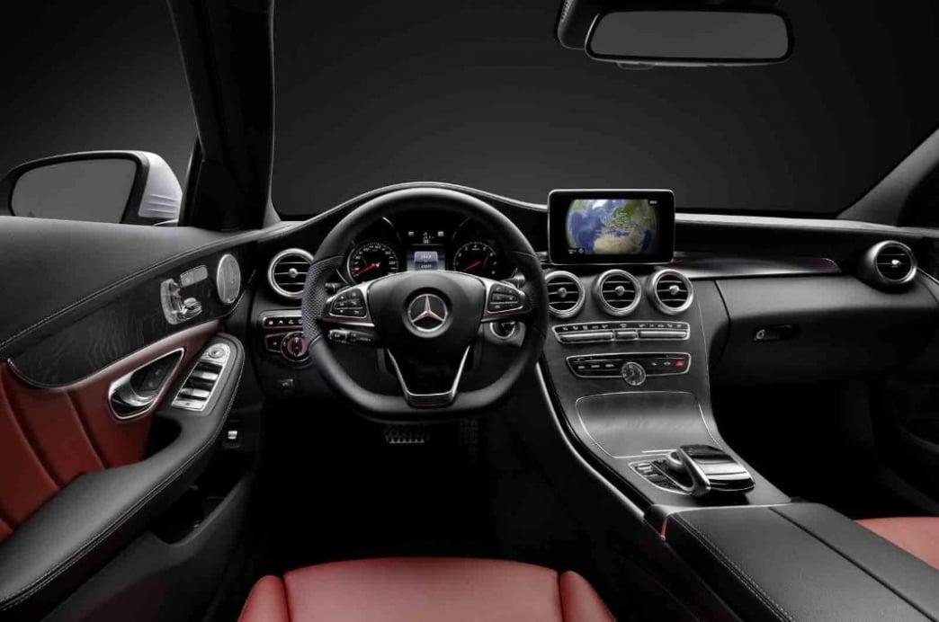 el interior del nuevo mercedes clase c 2014 al