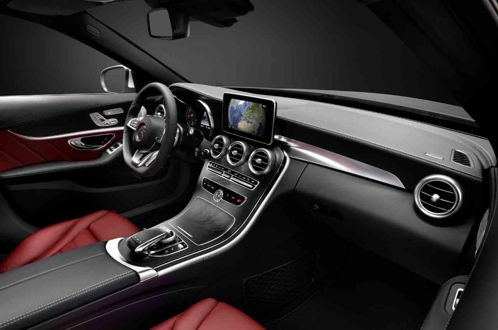 El interior del nuevo mercedes clase c 2014 al descubierto for Interior mercedes clase c