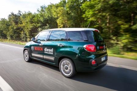 El Fiat 500L Living recorre 800 kilómetros con 27 litros de gasóleo