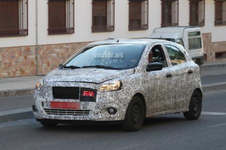 El Ford Ka / Figo de nueva generación se prueba en nuestro país