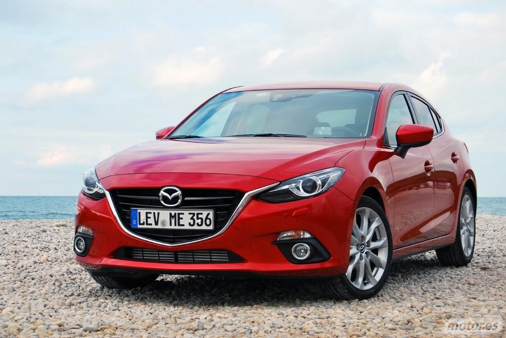 Prueba: Mazda3 2014, presentación (I): introducción, gama y diseño ...