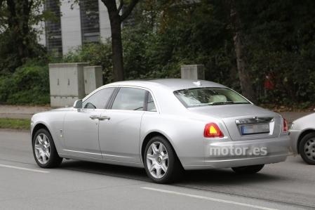 Rolls Royce Ghost 2014, pequeños cambios para la gran berlina