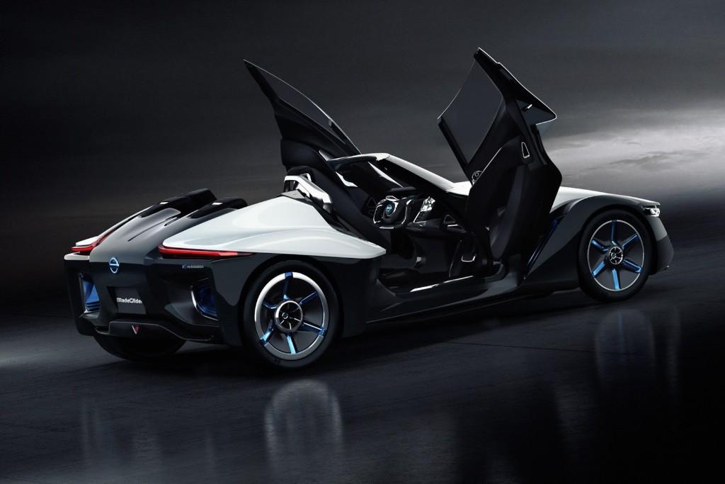 nissan bladeglider concept un prototipo electrico muy poco convencional motor es