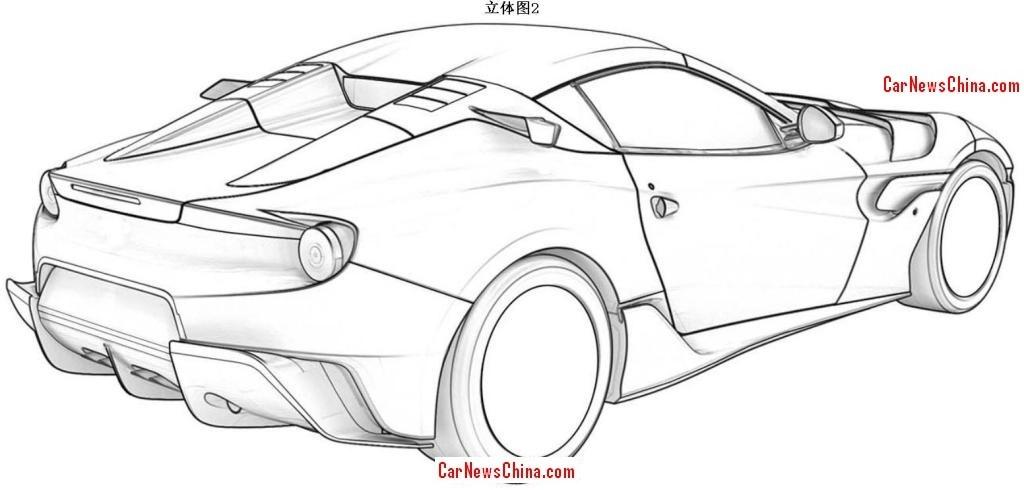 Ferrari Sp Arya Filtradas Las Imagenes De La Patente Motor Es