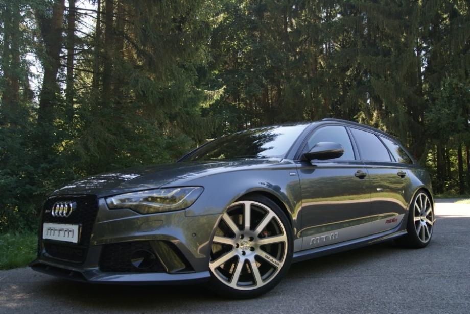 MTM Audi RS6: 722 CV para llevar a la familia - Motor.es