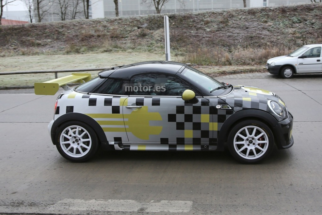 Electric Mini Cooper >> MINI E Race Coupé 2014, un eléctrico vestido de carreras ...