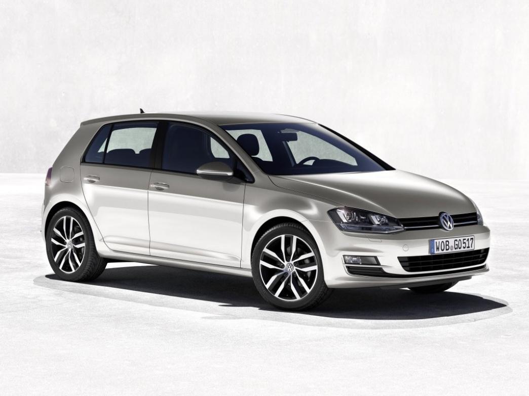 Alemania - Noviembre 2013: Triplete de Volkswagen