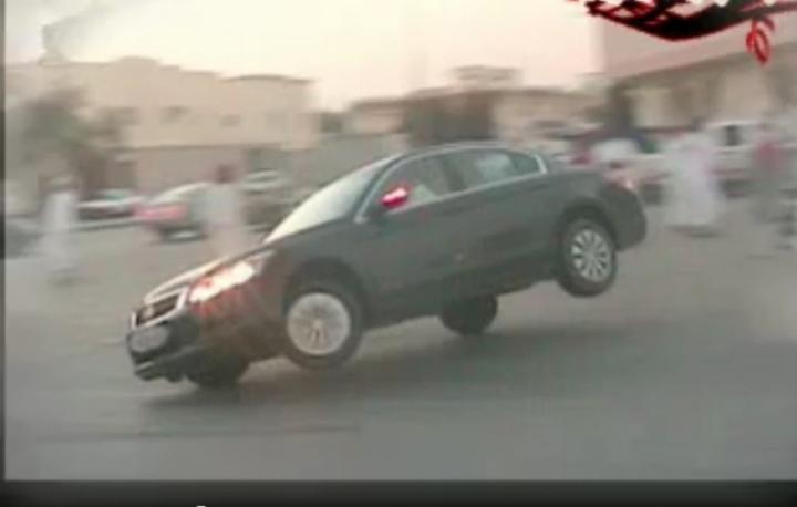Saudi Arabia Car Drifting Accident