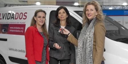 Toyota España, con la ONG olVIDAdos