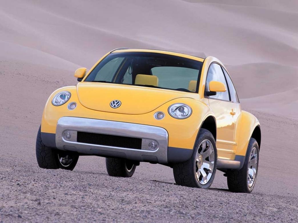 Volkswagen Beetle Dune Nuevo Prototipo En Detroit 2014 Motor Es