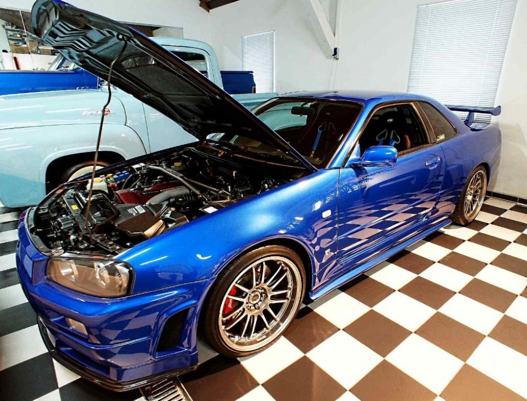 El Nissan Gt R Skyline De Paul Walker En Fast Amp Furious 4