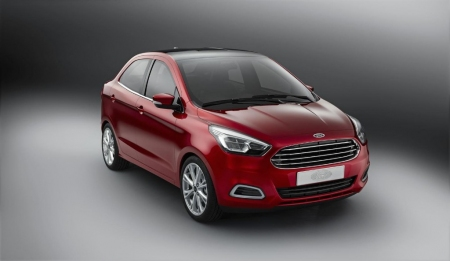 Ford Figo Concept, el nuevo Ka se viste de cuatro puertas para la India