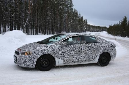 Chevrolet Cruze 2016, puesta a punto en la nieve