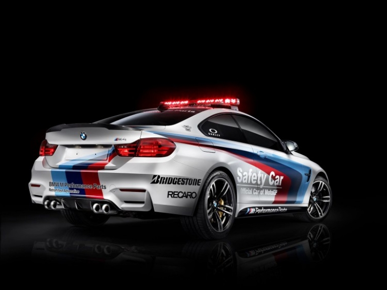 Así suena el BMW M4 Moto GP Safety Car con el escape Akrapovic de M Performance