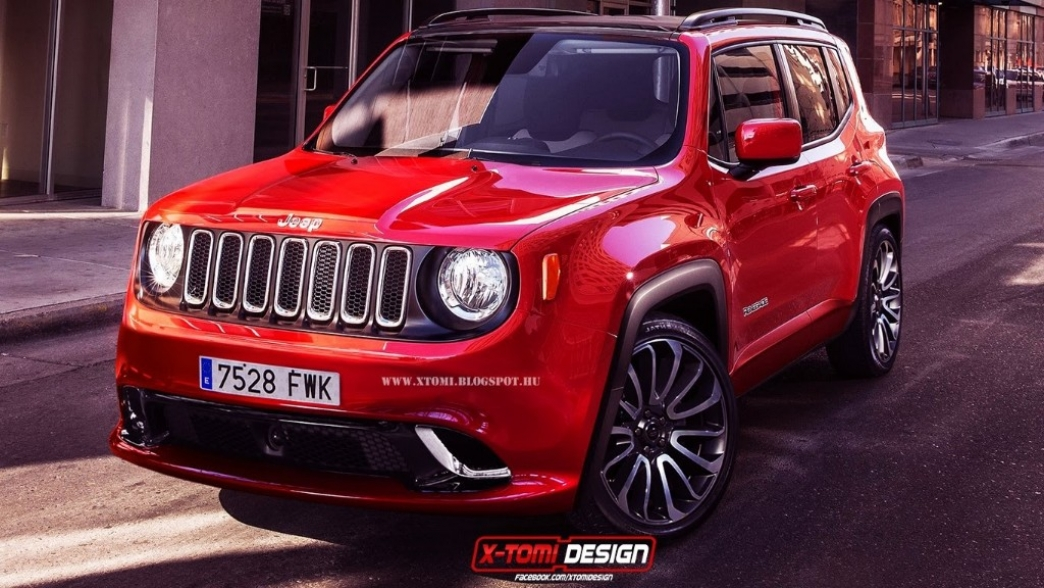 jeep renegade srt imaginando el dise o de una futura versi n deportiva. Black Bedroom Furniture Sets. Home Design Ideas