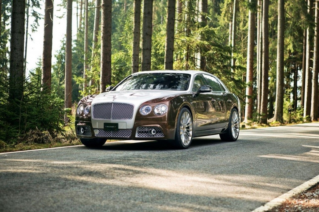 Mansory Lleva Hasta Los 900 Cv Al Bentley Flying Spur Motor Es