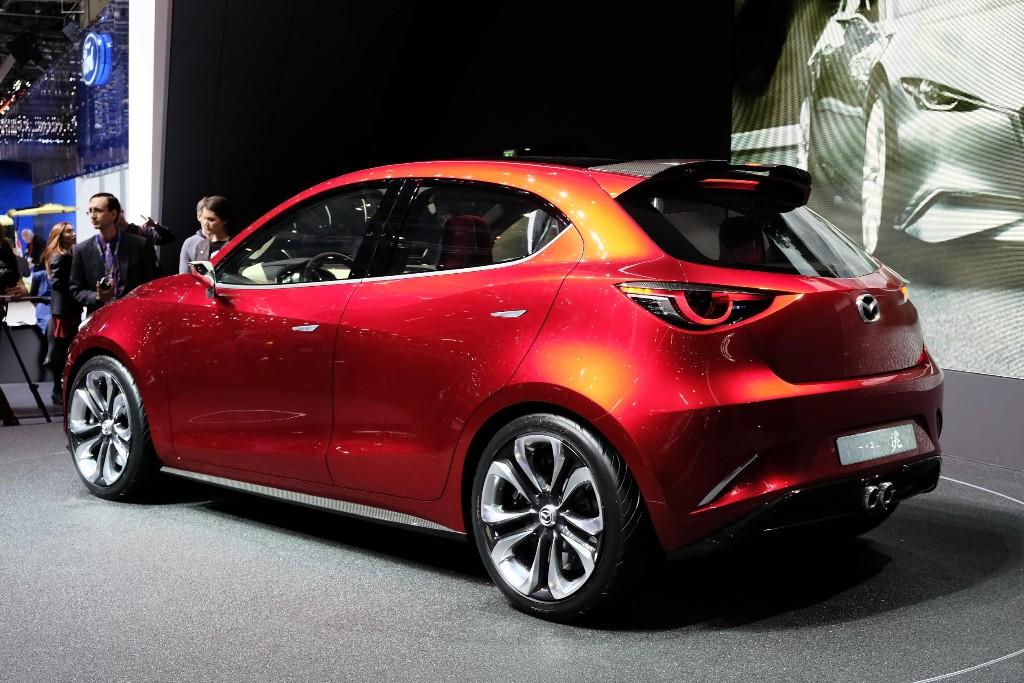 Mazda Hazumi Concept, adelantando el diseño del nuevo Mazda 2