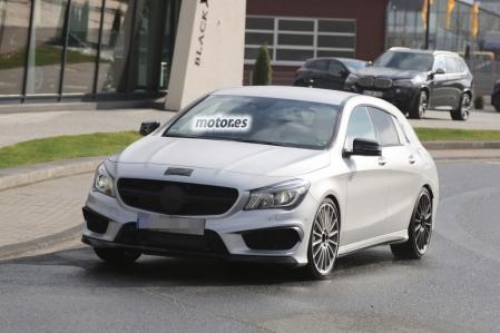 Mercedes CLA 45 AMG Shooting Brake, todavía queda lo mejor