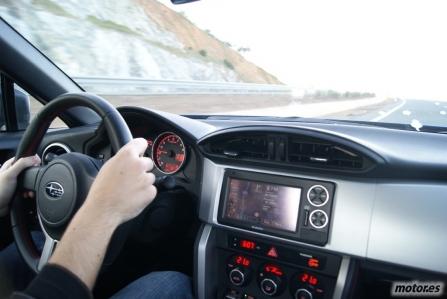 Prueba Subaru BRZ, en movimiento (III)