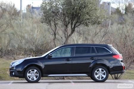 Subaru Outback 2.0TD Lineartronic, exterior e interior (II)