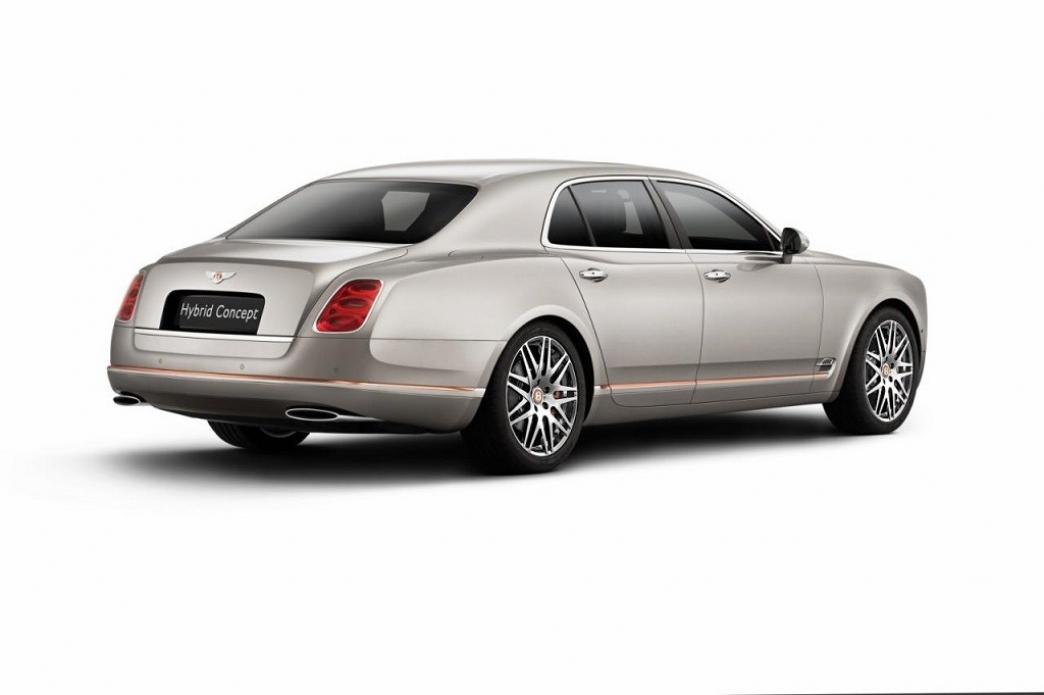 El Bentley Hybrid Concept se presenta en Pekín