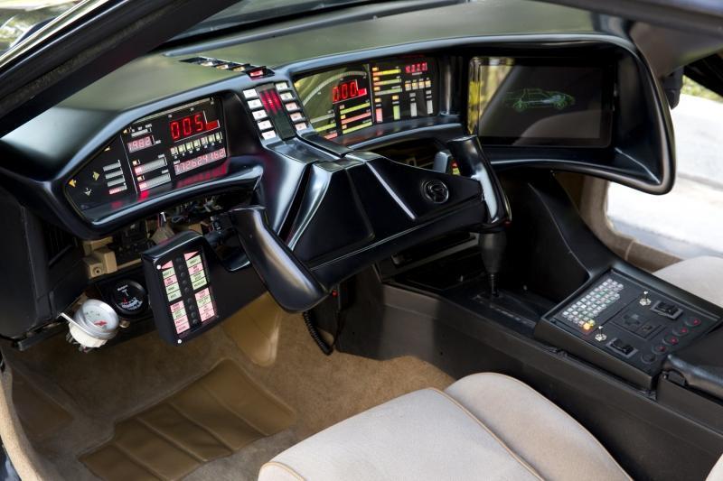 una r plica del 39 coche fant stico 39 perteneciente a david hasselhoff a subasta. Black Bedroom Furniture Sets. Home Design Ideas