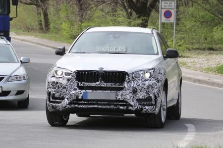 El BMW X6 2015 se desnuda poco a poco en nuevas fotos espía