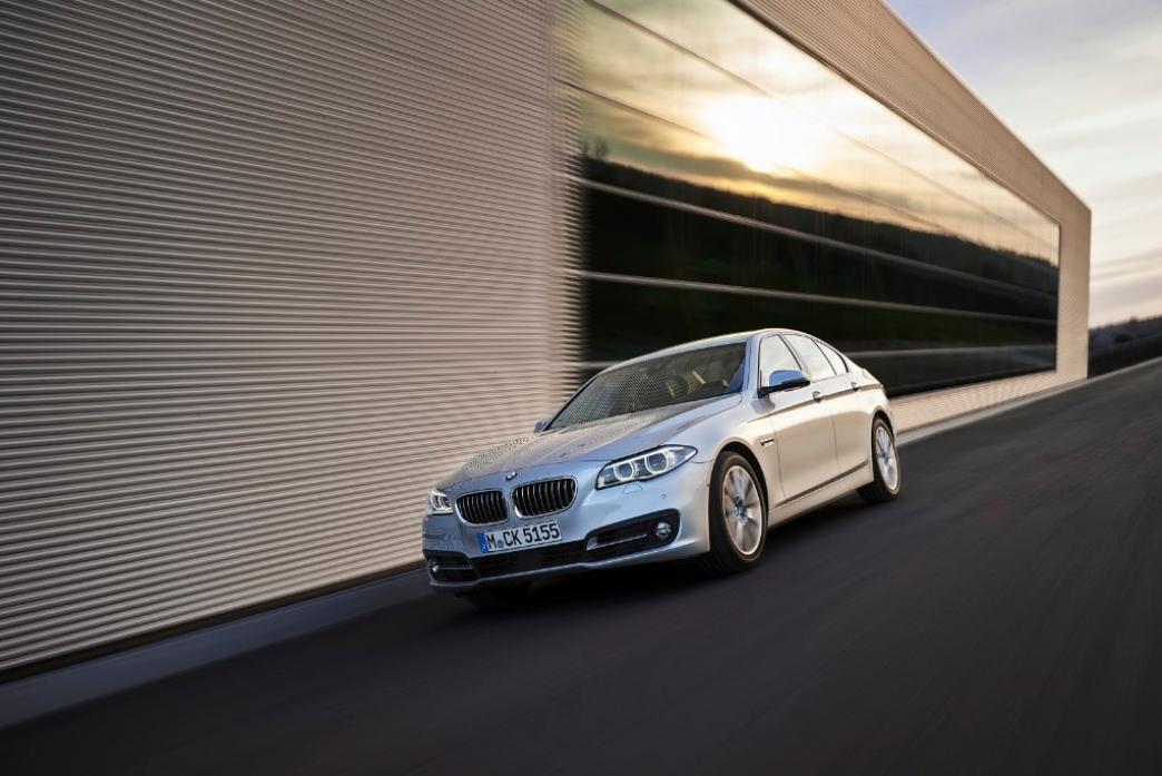 Nuevos motores diésel de cuatro cilindros en el BMW Serie 5