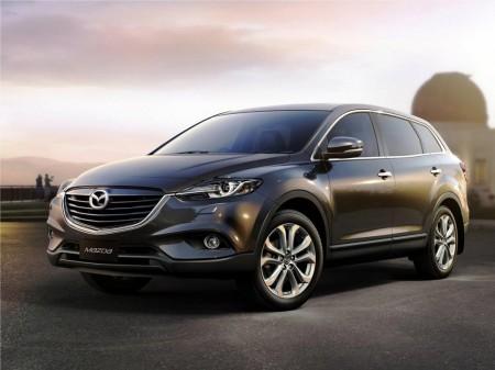 La próxima generación del Mazda CX-9 llegará en 2016