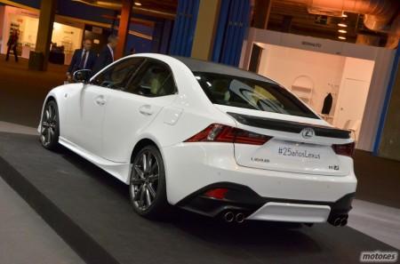 Lexus IS 25 Aniversario, 25 unidades sólo para España
