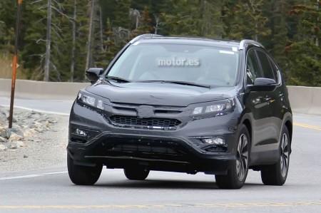 El Honda CR-V restyling se deja ver por primera vez