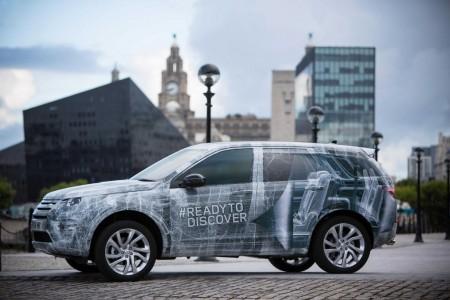 El nuevo Land Rover Discovery Sport, con siete plazas de forma opcional