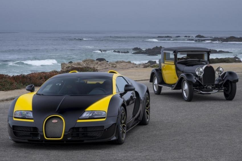 Bugatti Veyron Grand Sport Vitesse 1 of 1, recreando el pasado