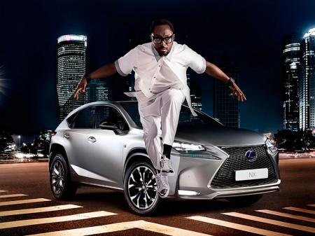 Will.I.Am será el protagonista de la campaña de lanzamiento del Lexus NX