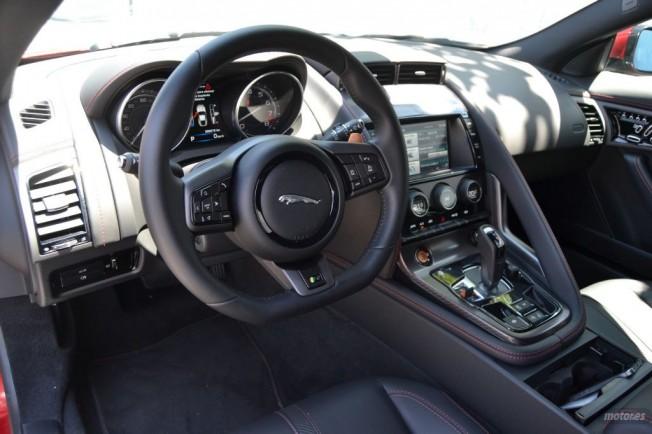 jaguar f type r coupe interior - photo #22