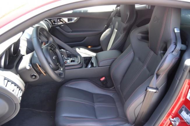 Prueba jaguar f type r coup ii interior - Jaguar f type r coupe interior ...