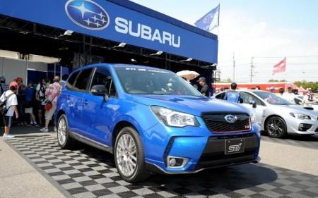 Un misterioso Subaru Forester STI aparece en el Super GT Japones