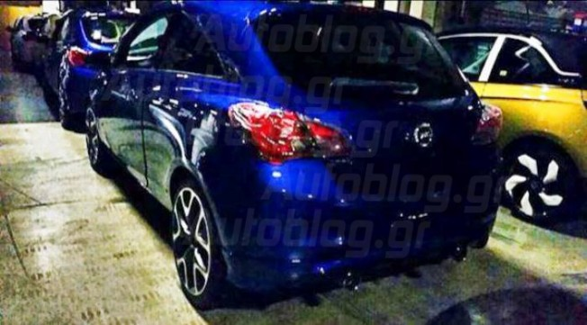 Opel Corsa OPC 2015, fotos filtradas