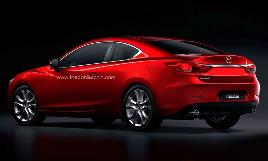 El Mazda6 Coupé ¿Llegará en 2016? - Motor.es
