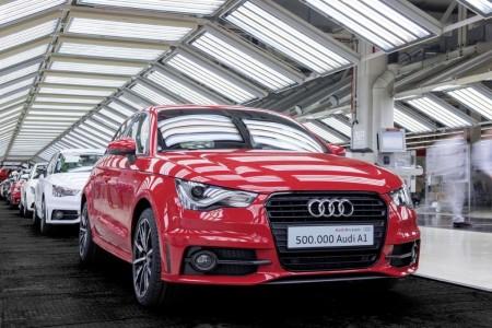 Audi supera las 500.000 unidades construidas del A1