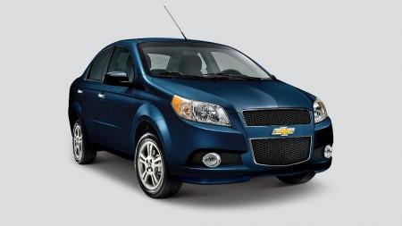 México - Septiembre 2014: El Chevrolet Aveo sigue dominando el mercado