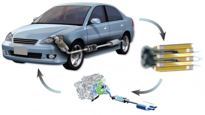 gases que emiten los motores diesel: